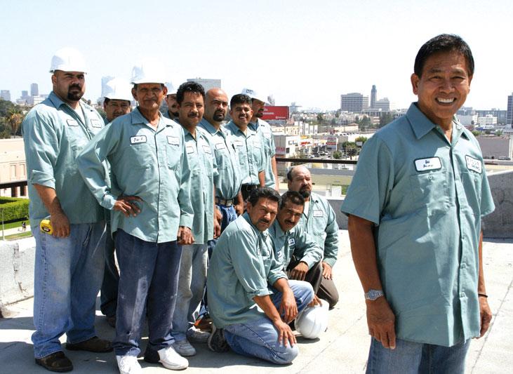 Evcor Copper Plumbing team
